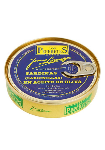 Sardinilla en aceite de oliva Los Peperetes