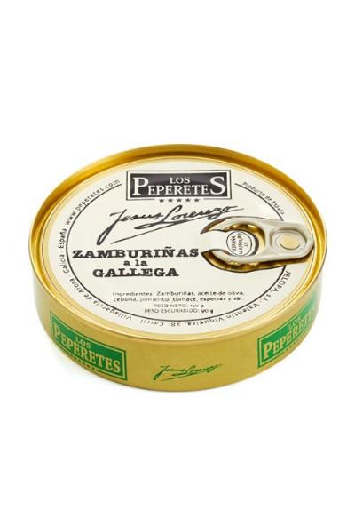 Zamburiñas Los Peperetes (10-14 piezas)