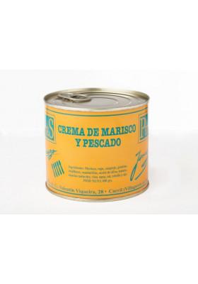 Crema de pescado y marisco Los Peperetes