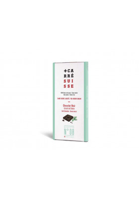 Chocolate negro con stevia