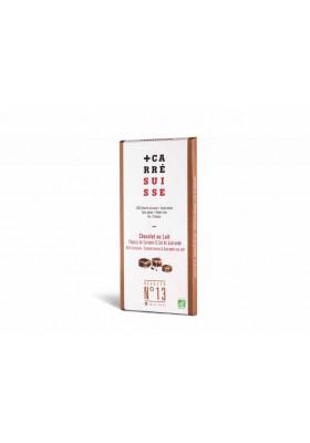 Chocolate con leche caramelo y sal de guerande