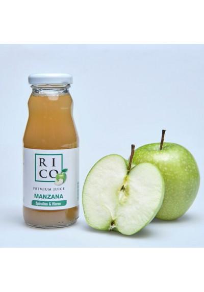 Zumo de manzana Rico