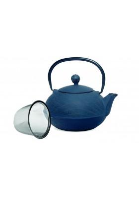 Tetera china azul