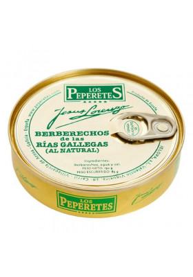 Berberecho al natural Los Peperetes (60-70 piezas)