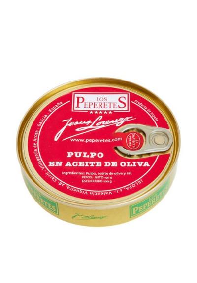 Pulpo en aceite de oliva Los Peperetes