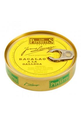 Bacalao a la gallega Los Peperetes